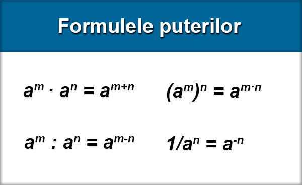 Formulele-puterilor