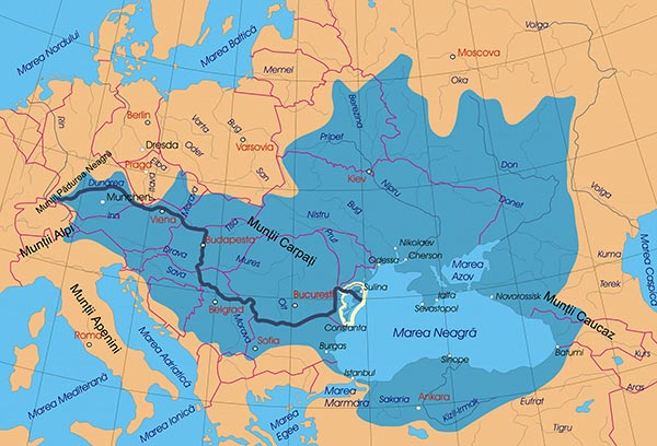 Bazinul hidrografic al Dunării