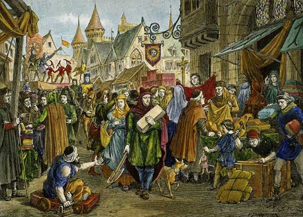 Evul Mediu (Lumea medievală, Omul şi mediul, Satele şi oraşele, Arta medievală)
