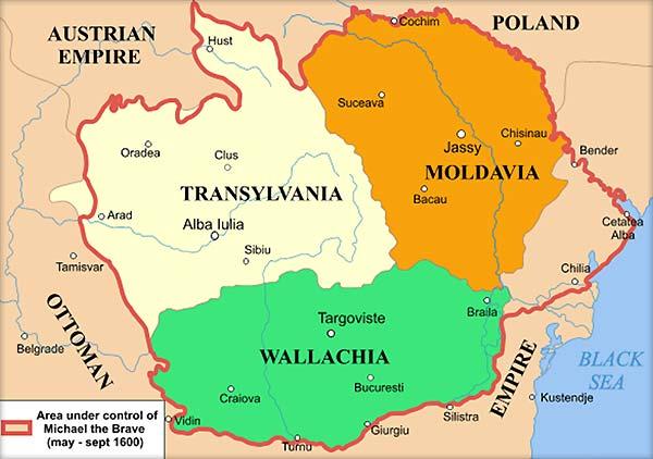 Prima-unire-a-celor-trei-principate-romane-Mihai-Viteazul-1600