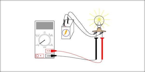 Măsurarea tensiunii electrice