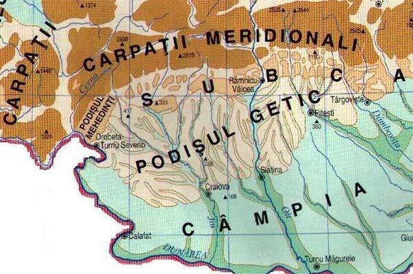 Podişul Getic, Podişul Mehedinţi